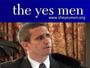 The Yes Men impersonate the WTO (RTMark), 2000