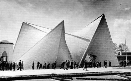 Xenakis' Pavillon, Expo Brüssel 1958
