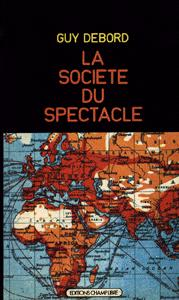 Guy Debord «Society of spectacle» | Cover of 1st edition, 1967