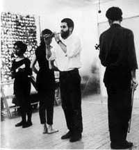 Allan Kaprow «18 Happenings in 6 Parts» | The artist during the performance