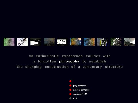 Bill Seaman «The Exquisite Mechanism of Shivers» | Screenshot from the CD artintact1