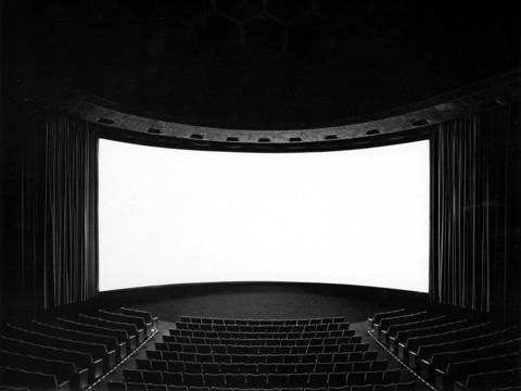 Hiroshi Sugimoto's Cinerama Dome, Hollywood, 1993