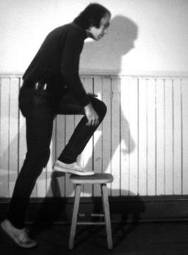 Vito Acconci »Step Piece«