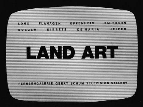 Gerry Schum »Land Art«