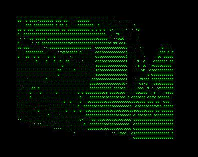 ASCII Art Ensemble «ASCII Art» | ASCII Art - Blow Up