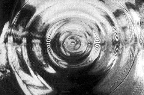 Karl Gerstner, «Auto-Vision», 1964 Experimente zur optischen Verzerrung | Photography | © Karl Gerstner