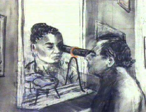 William Kentridge, «Felix in Exile», 1994 (Videostill)
