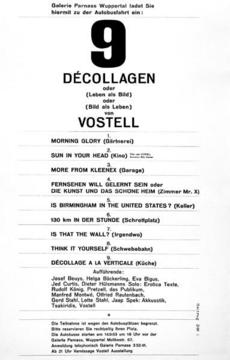 Wolf Vostell »Sun in Your Head«