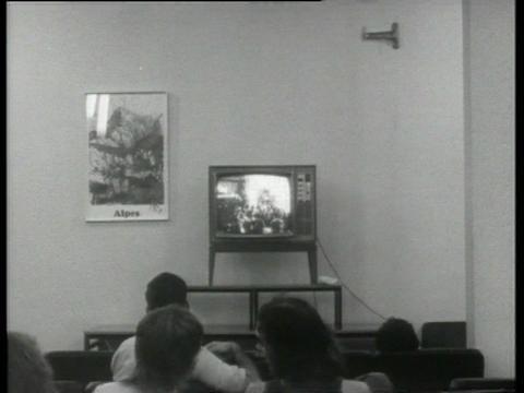 Media Art Net | Hall, David: TV Interruptions: 7 TV Pieces