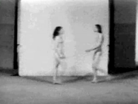 Media Art Net | Abramovic, Marina; Ulay: Relation in Space