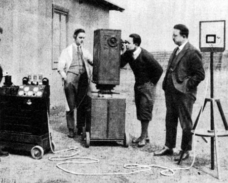 Walter Ruttmann «Tri-Ergon optical sound recording»