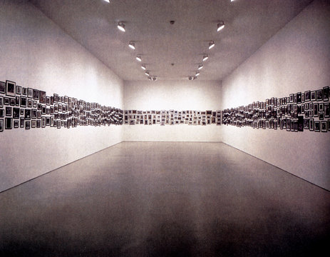 Douglas Blau »The Naturalist Gathers« | Installation 1992