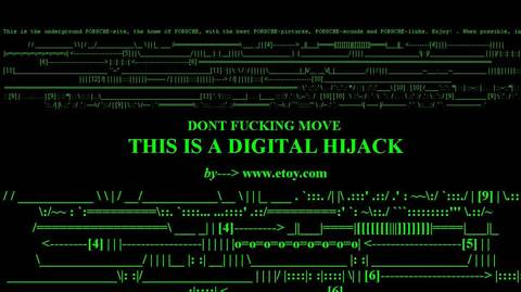 etoy »The Digital Hijack«