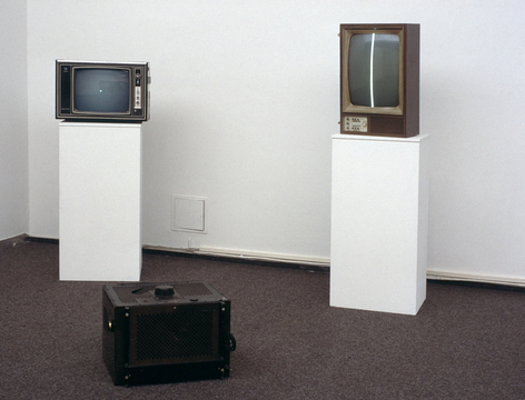 Nam June Paik «Exposition of Music – Electronic Television» | Reconstruction, 1989