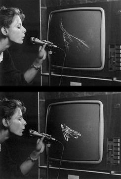 Nam June Paik «tv with microphone» | TV mit Mikro