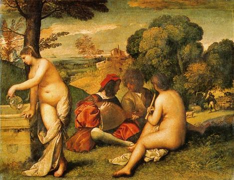 Giorgione «Concert champêtre» | Ländliches Konzert