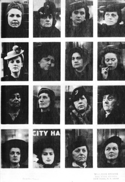 Walker Evans «Subway Portraits»