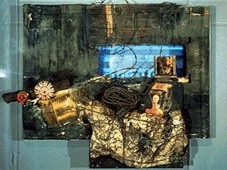 Wolf Vostell «German View from the Black Room Cycle»