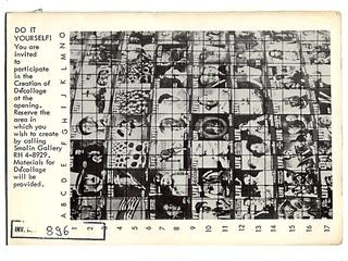 Wolf Vostell, «Do it yourself Dé-collage», 1963