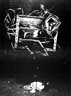 Wolf Vostell, «TV Burying», 1963 Photograph: Peter Moore