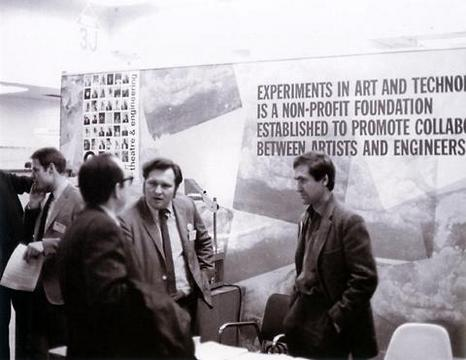 E.A.T. – Experiments in Art and Technology «Experiments in Art and Technology - Documents» | Booth at the annual meeting of the Institute of Electrical and Electronics Engineers (IEEE), 1967