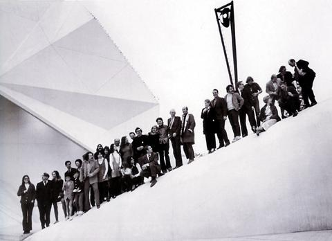 E.A.T. – Experiments in Art and Technology «Pepsi Pavilion for the Expo '70» | group photo