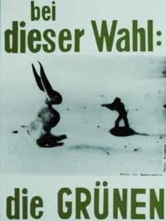Joseph Beuys «Election Poster for the Green Party»